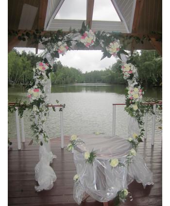 Украшение свадьбы на...